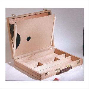 art advantage large wood art box
