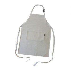 White Cotton Apron XL