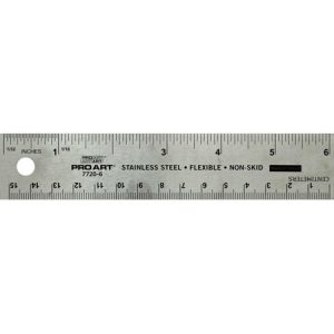 Proart Stainless Steal Ruler