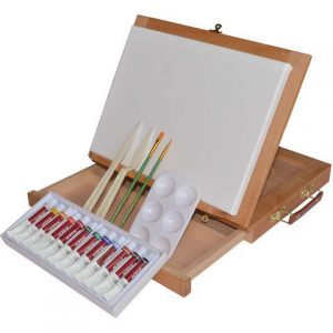 Art Advantage Table Easel Painting set of 19