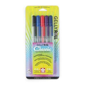 Sakura Gelly Roll Classic Pen Set of 5
