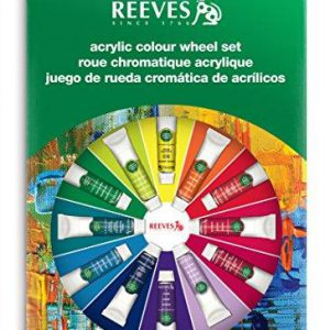 Reeves Acrylic Color Wheel Set