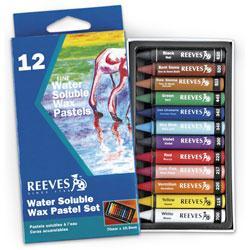 Reeves watersoluble wax pastel