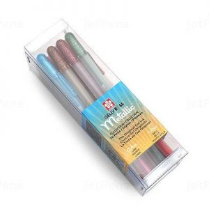 Sakura Gelly Roll Metallic Gel Pens 16 set