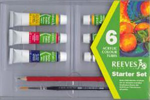 Reeves Acrylic Color 6 Tube Set
