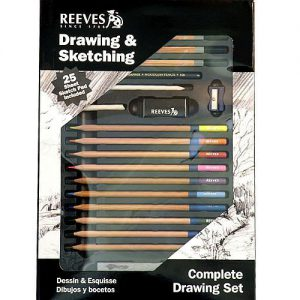 Reeves drawing and sketching complete set