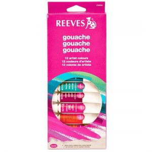 Reeves Gouache Artist Colors 12 set