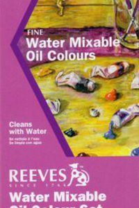 Reeves watermixable oil color set