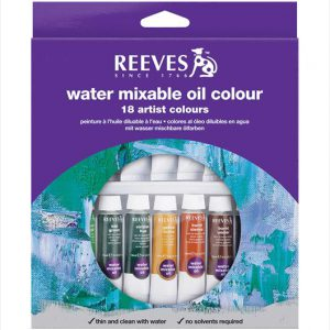 Reeves Watermixable 18 set 10ml Tubes