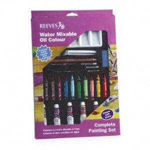 Reeves Water Mixable Oil Color Complete painting set