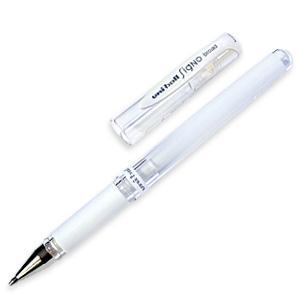 Uniball White Gel Pen