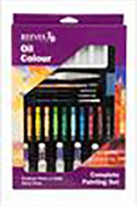 Reeves oil color complete painting set