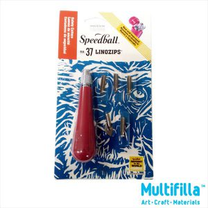 Speedball Linozips Safety Cutter Set No 37