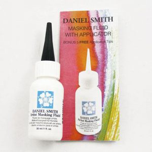 Daniel Smith Watercolor Masking Fluid and Applicator