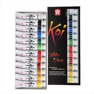 Koi Watercolor 12 Set