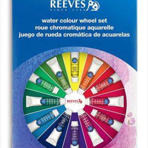 Reeves Watercolor Wheel Set
