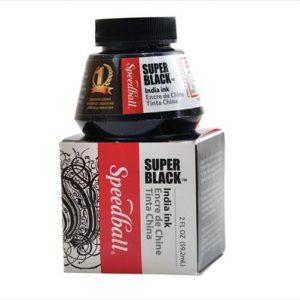 Speedball Super Black Waterproof India Ink