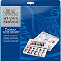 Winsor Newton Cotman Watercolor Palette set of 12