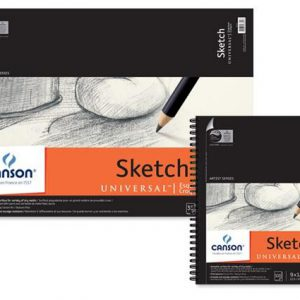 Canson Artist Series Universal Sketching Pad 100 Sheets