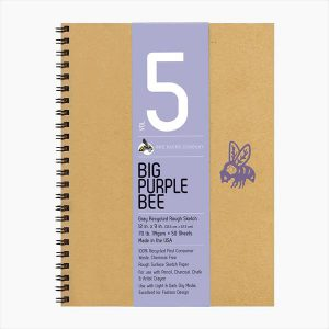Big Purple Bee Sketchbook