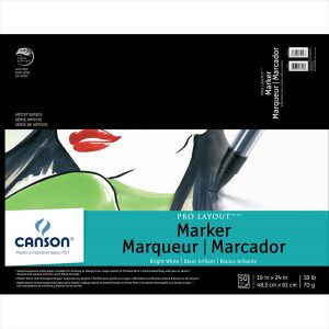 Canson Pro Layout Marker Pad Bright White