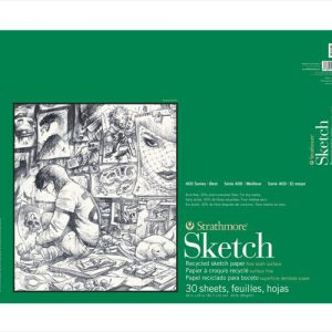 Strathmore 400 Recycled Sketch Pad