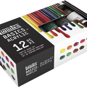 Basics Acrylic set 12x22ml