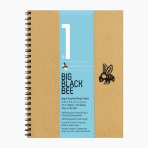 Big Black Bee Sketchbook