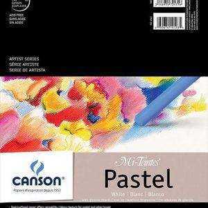 Canson Mi Tientes Pastel Pad White