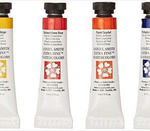 Daniel Smith fine Watercolor tubes