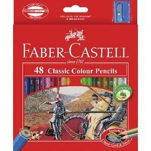 Faber castell classic 48 pencil set classic colored pencils