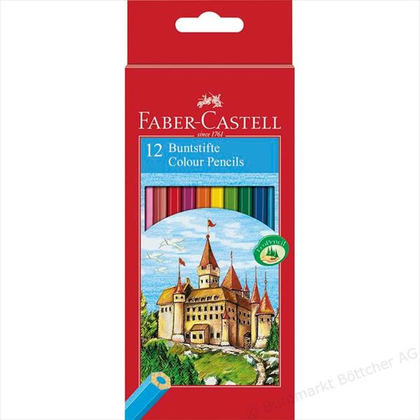 Faber Castell Colored Pencil set of 12 buntstifte