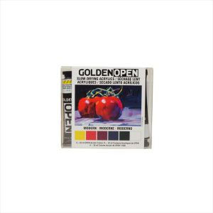 Golden Open Slow drying acrylic modern 22ml 6 pack tubes