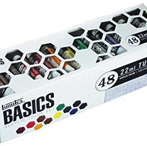 Liquitex Basics Acrylic color set 48 pack