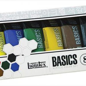 Liquitex basics acrylic color set 8 pack