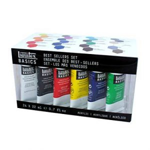 Liquitex Basics Best seller set 24 pack 22ml