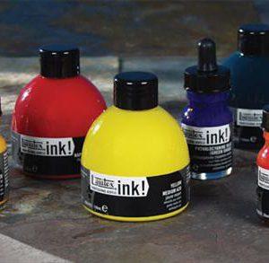 Liquitex Professional Acrylic Ink bottles 30ml