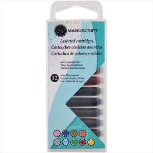 Manuscript Creative Cartridges 12 Set