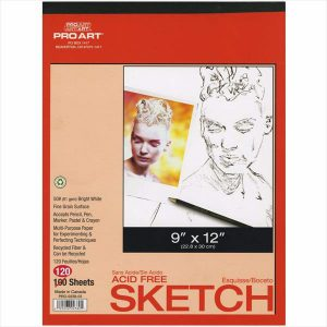 Proart Acid free sketchbook twin pack