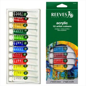 Reeves Acrylic Artist Color 12 pack