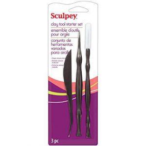 Sculpey clay tool starter set