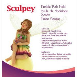 Sculpey Flexible Push Mold Fairy