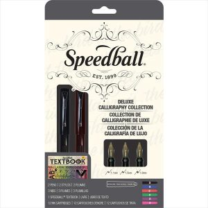 Speedball Deluxe Calligraphy Collection 18 pack