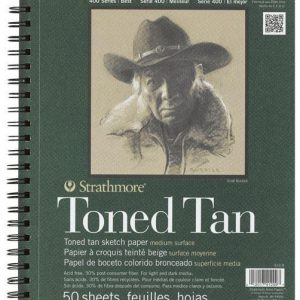 Strathmore Toned Tan Sketchbook