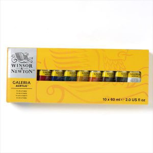 Winsor and Newton Galeria Acrylic Set 60ml tube set