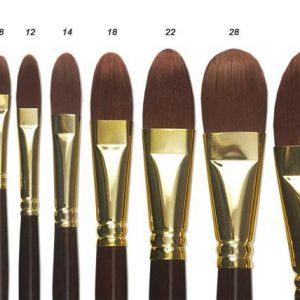 Winsor & Newton Filbert Brushes