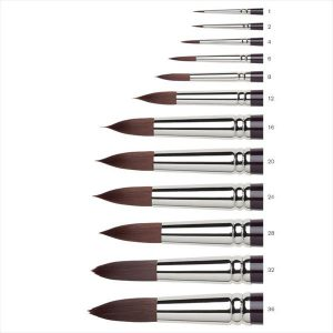 Winsor Newton Galeria Round Long Handle Brushes