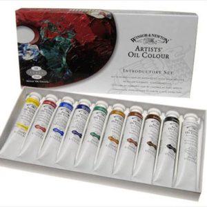 Winsor Newton Artist oil introcutory set 10 pack 21ml