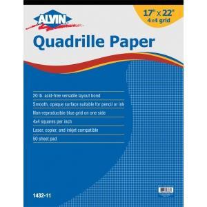 Alvin Quadrille Paper