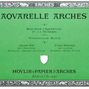 Arches Cold Press Block